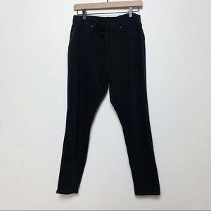 Stretchy Black Jeggings, XL 16W